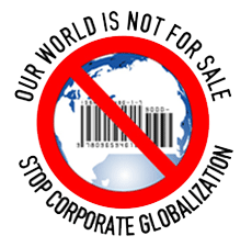 Our World Is Not For Sale logo